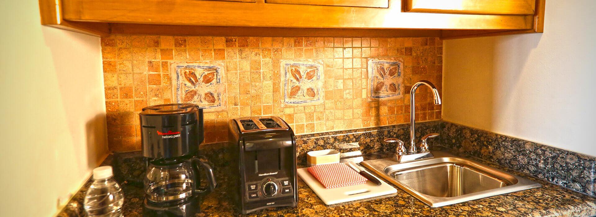 junior suite with kitchenette