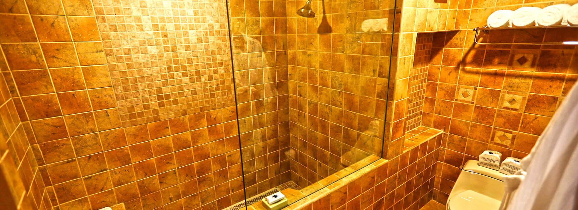 ample bathroom in the royal haciendas junior suite