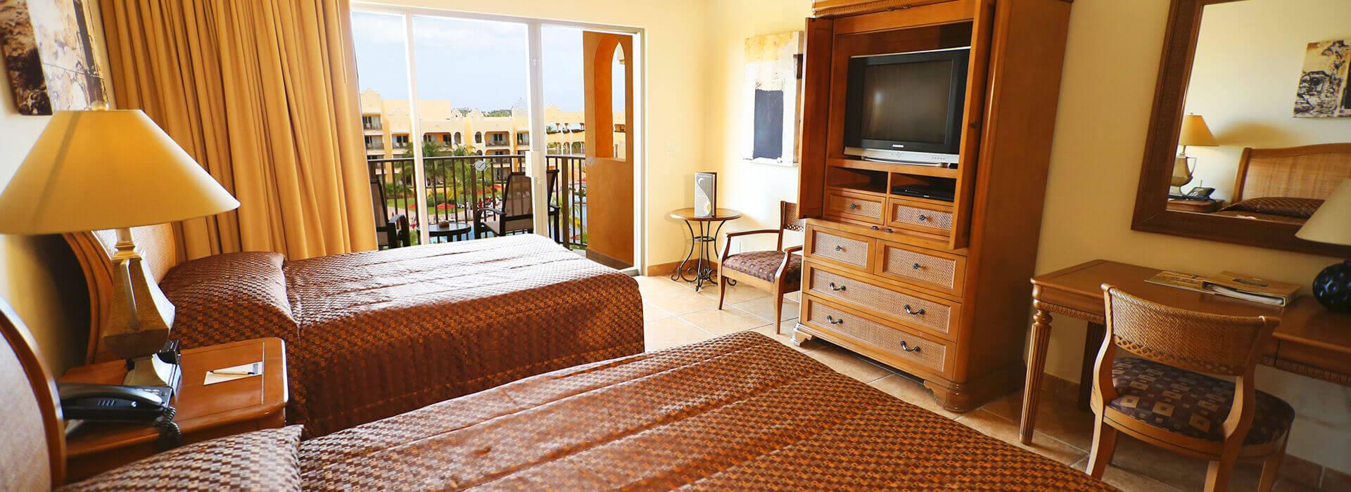 two double beds junior suite The Royal Haciendas