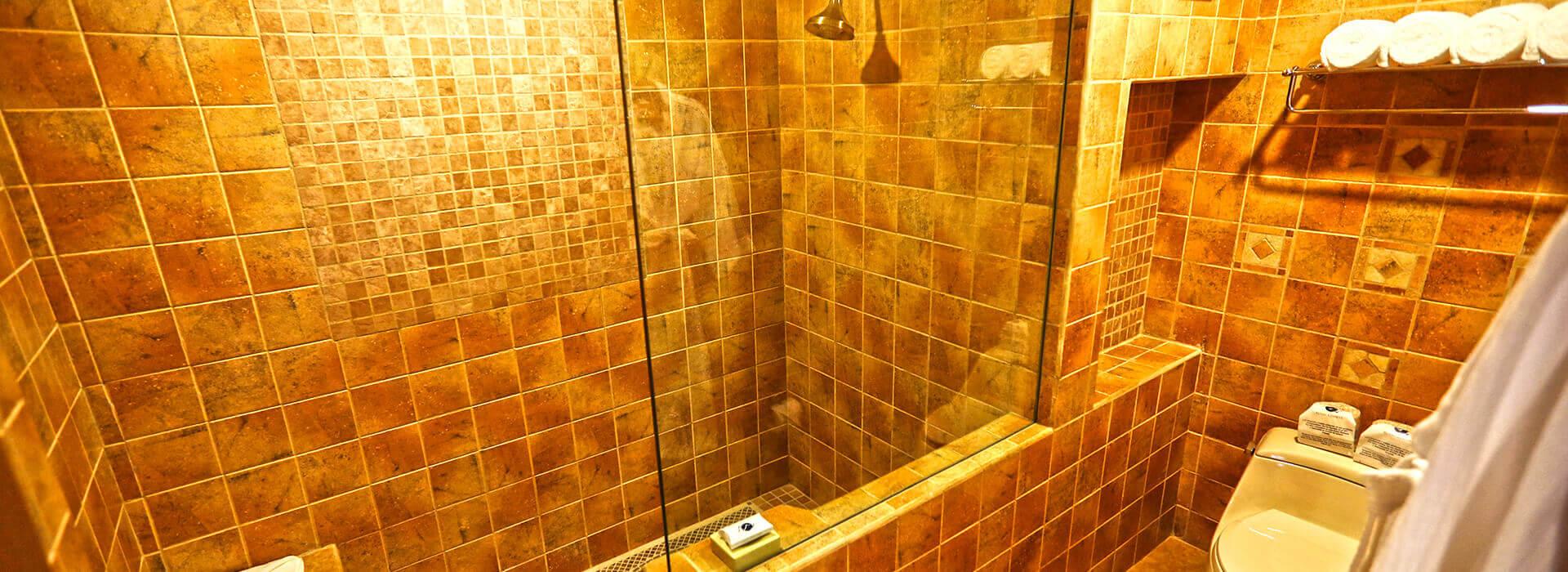 bathroom in junior suite, The Royal Haciendas