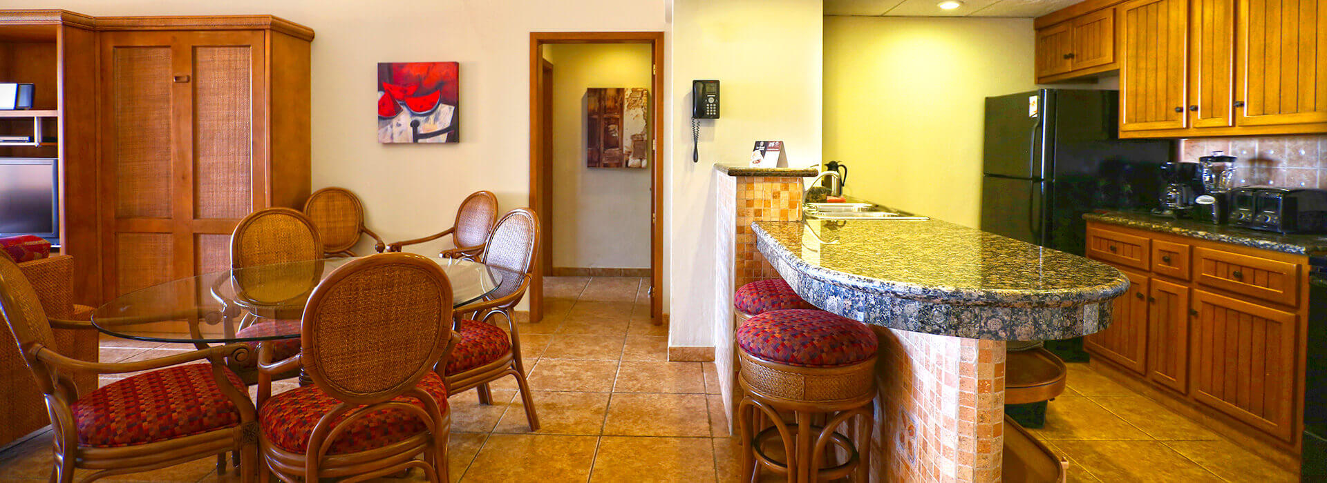 Ample suite in The Royal Haciendas Resort