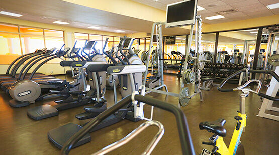 The Royal Haciendas fitness center