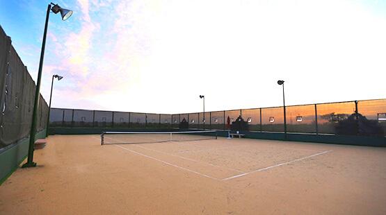 Canchas de tenis en The Royal Haciendas