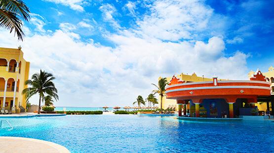 hotel en playa del carmen para familias