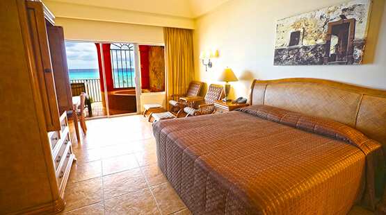 suite frente al mar en the royal haciendas
