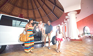 Riviera Maya resort with transportation included