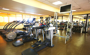 Resort in Riviera Maya with fitness center