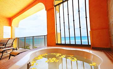 suite frente en hotel frente a la playa de la Riviera Maya