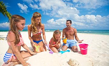 Family Activities in Beachfront Resort